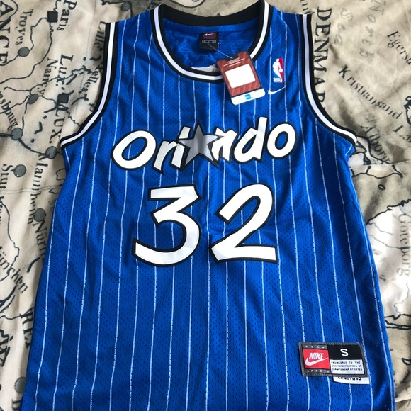 Shaquille O Neal Orlando Magic  32 Blue Jersey NWT 541599673